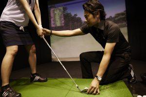 ゴルフ ボール位置