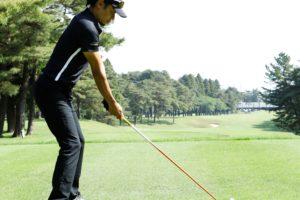 ゴルフ 綺麗なアドレス