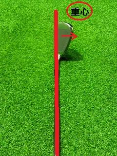 ゴルフクラブの重心