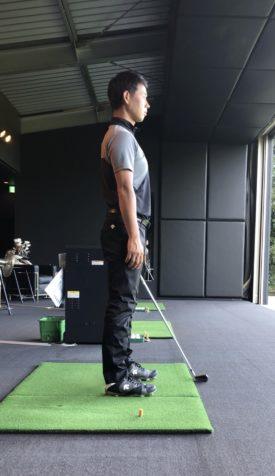 ゴルフ アドレスの始まり①