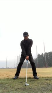 ゴルフ ワイドスタンス