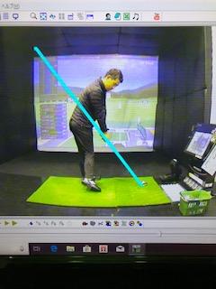 ゴルフ 適正なライ角でインパクト