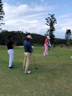 沖縄ゴルフ合宿 コースレッスン