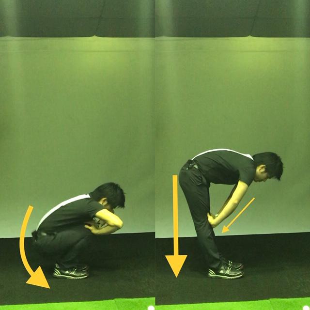 ゴルフ、ラウンド前、練習、方法、スタート前