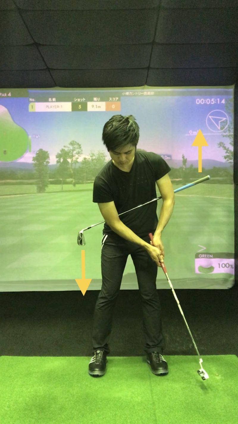 ゴルフ パター 基本 打ち方 ドリル