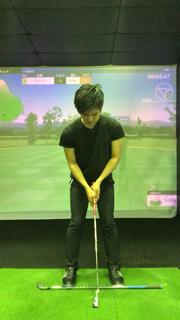 ゴルフ パター 基本 アドレス