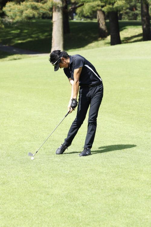 ゴルフスイング インパクト