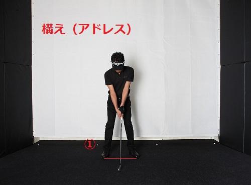 ゴルフスイング(アドレス)
