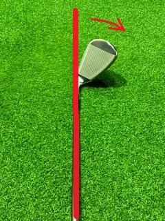 ゴルフクラブの重心 ②